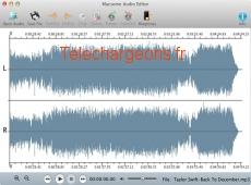 Macsome Audio Editor 1.1.0 capture d'écran