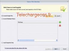 Import OST Files 15.9 capture d'écran
