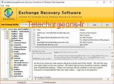 EDB to PST Recovery Software 8.7 capture d'écran
