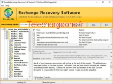 EDB Email Extractor 8.7 capture d'écran