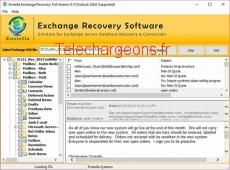 EDB to PST Tools 8.7 capture d'écran