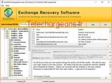 Exchange EDB to PST Recovery Tool 8.7 capture d'écran